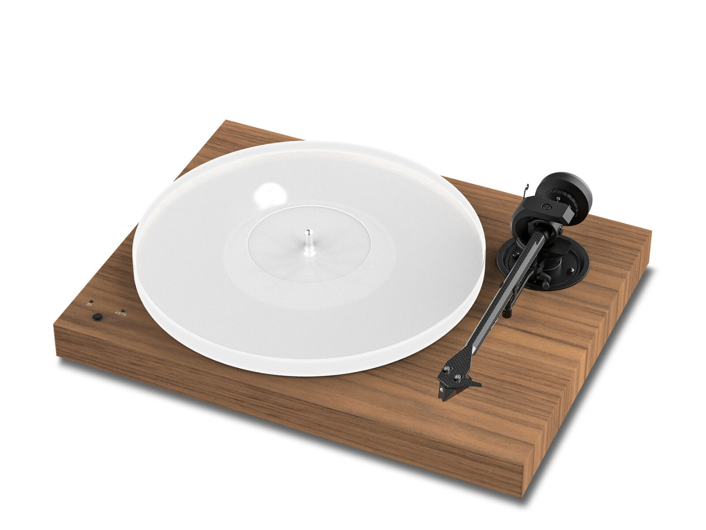 Pro-Ject X1 DC Walnut + PICK IT S2 MM
